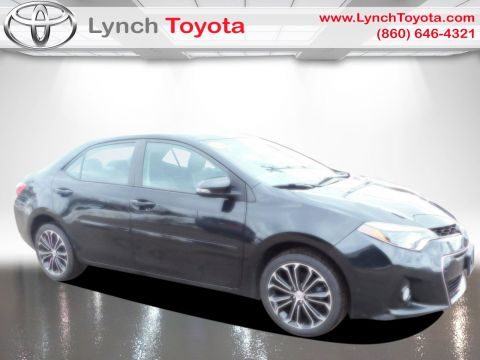 Pre-Owned 2015 Toyota Corolla S Front Wheel Drive 4dr Car