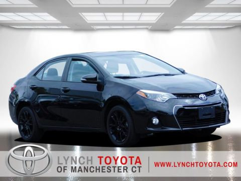 Certified Pre-Owned 2016 Toyota Corolla S Front Wheel Drive 4dr Car