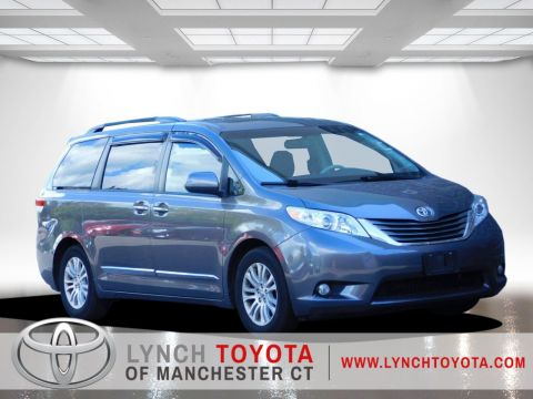 Certified Pre-Owned 2014 Toyota Sienna Ltd Front Wheel Drive Mini-van, Passenger