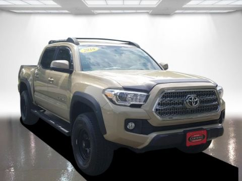 Certified Pre-Owned 2016 Toyota Tacoma TRD DBL