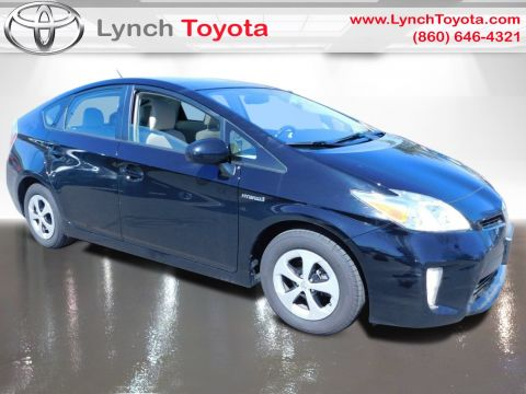 Certified Pre-Owned 2014 Toyota Prius Three Front Wheel Drive Hatchback